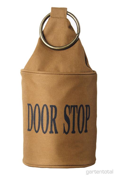 cooler t rstopper sack braun mit ring ebay. Black Bedroom Furniture Sets. Home Design Ideas