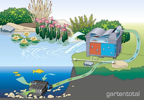 oase aquamax eco classic 3500 teichpumpe filterpumpe. Black Bedroom Furniture Sets. Home Design Ideas