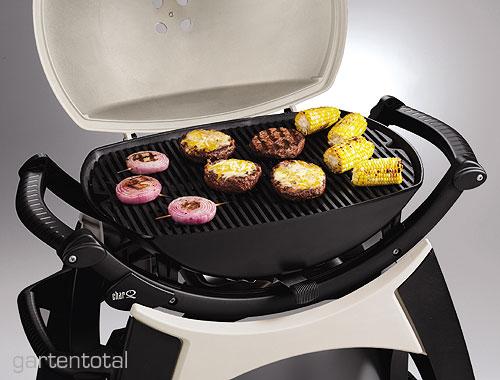 weber char q 260 station premium grill 54x39cm titan ebay. Black Bedroom Furniture Sets. Home Design Ideas